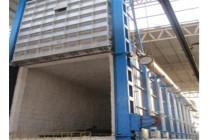 湖南台车式电阻炉炉衬炉盖保温耐火纤维模块
