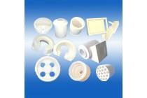 供应普通标准高纯高铝锆铝含锆型硅酸铝陶瓷纤维异形件