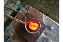 球齿钻头感应焊接机