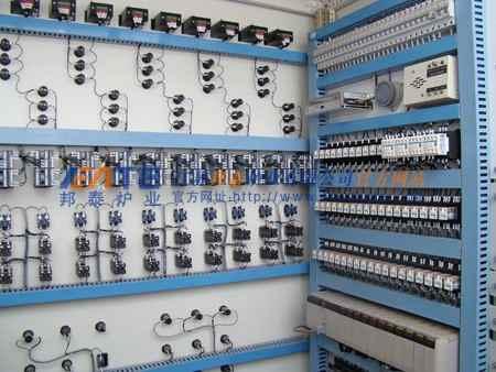 天然气炉PLC电炉控制系统