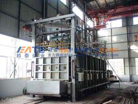 模壳焙烧燃油炉贯通式生产线