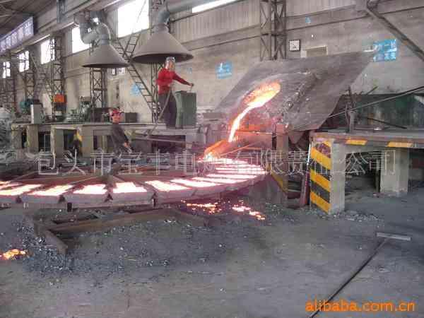 废钢铁熔炼浇铸炉
