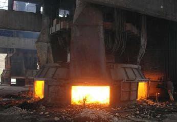 12500kVA高碳铬铁炉