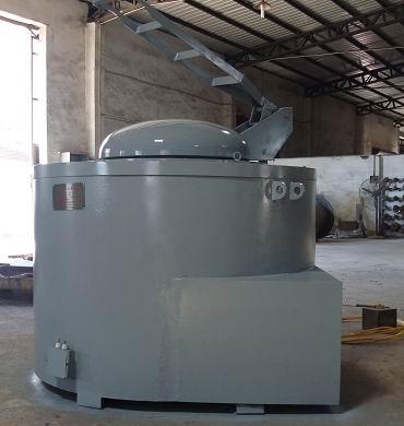 电加热GR3系列坩埚式熔炼保温炉