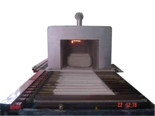 电热辊道烤花窑