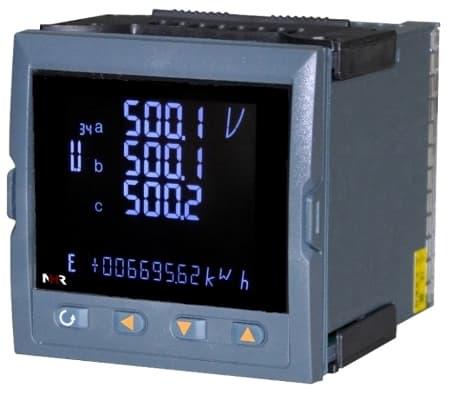 虹润液晶综合电量集中显示仪厂家
