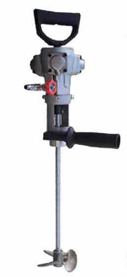 50公斤便携式涂料防爆气动搅拌机