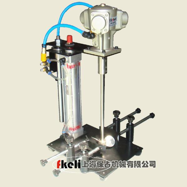 实验室气动搅拌器配三叶片夹具