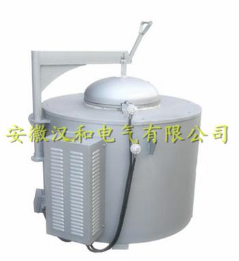 坩埚式铝合金熔化保温炉