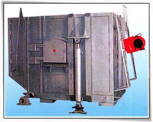 可倾式熔铝燃油炉