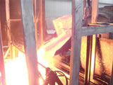 钢球出炉状况