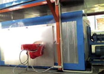 燃油式台车炉