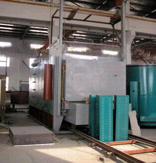 全纤维台车式电阻炉1