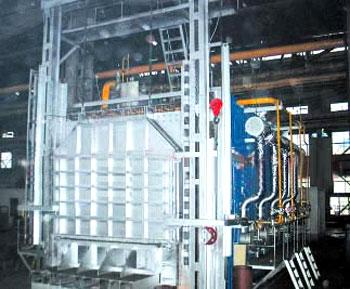 大型台车式燃气炉