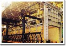 全纤维燃气台车炉1