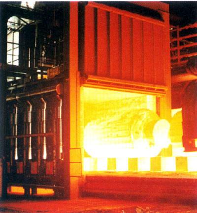 燃气式台车炉