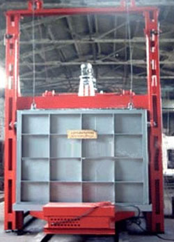 大型台车式热风循环炉