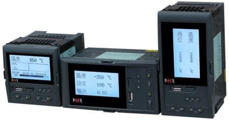 虹润液晶四路PID调节记录仪