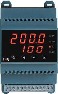 虹润NHR-DN40导轨式温控器60段程序温控器