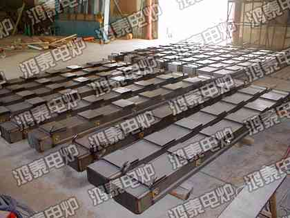 鸿泰电炉供应中频炉磁轭硅钢片