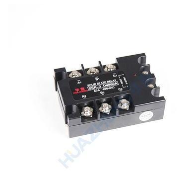 三相固态继电器 SSR-3D4860A 华整牌厂家直销