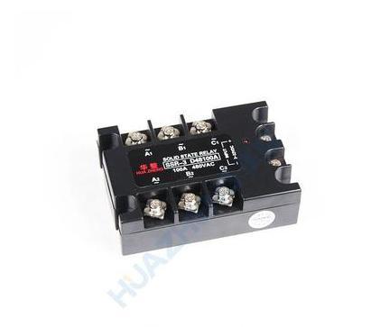 三相固态继电器 SSR-3D48100A 华整牌厂家直销欢迎来电咨询