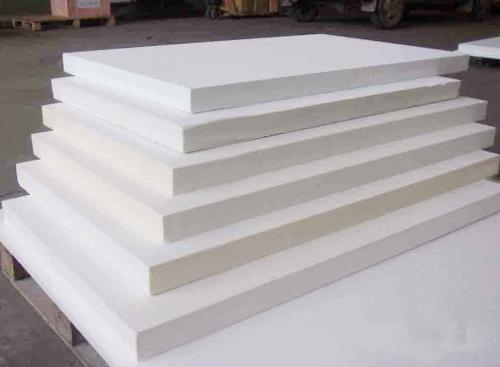 推板炉背衬隔热板 硅酸铝磨光板陶瓷纤维抛光板