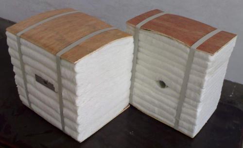 陶瓷纤维折叠块硅酸铝模块大型燃油加热炉防火专用