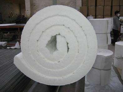 陶瓷纤维双面针刺毯加热炉专用防火保温材料