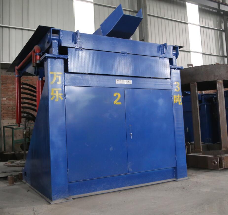 钢壳中频熔炼电炉