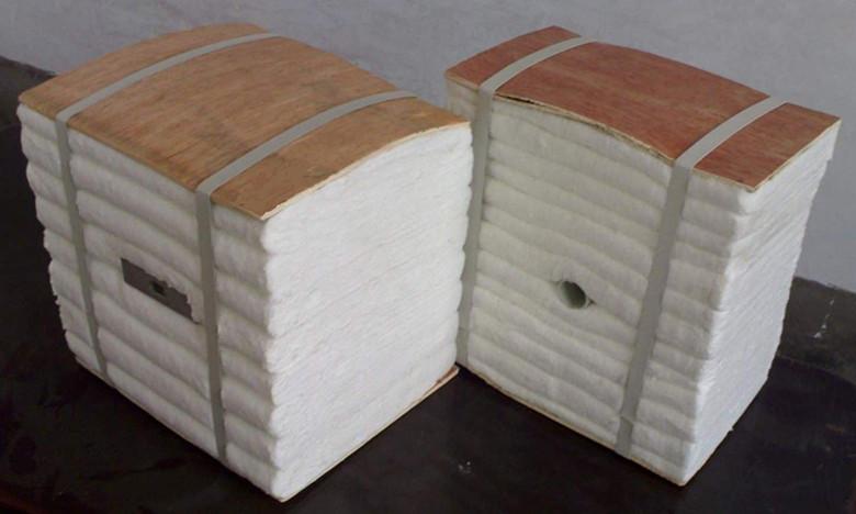 电加热炉保温壁衬用硅酸铝纤维模块