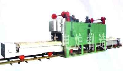 双炉门台车式电阻炉