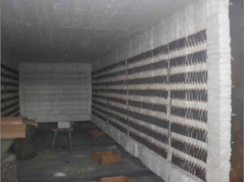 台车式高锰钢淬火电阻炉