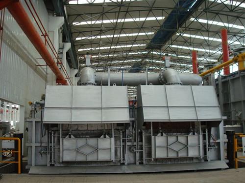 镁铝锌铜快速熔炼炉 压铸热工铝合金燃气式连续熔化保温炉