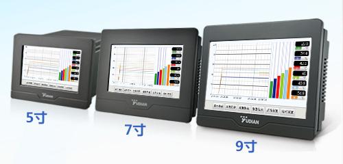 宇电AI-3702M/3704M/3706M触摸操作记录型显示报警仪表