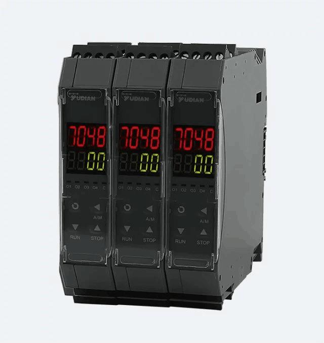 宇电AI-7048D51导轨安装带面板显示温控器