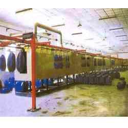 悬链式油漆生产线