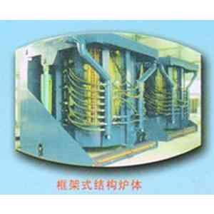 框架式结构炉体