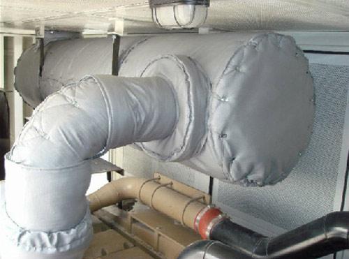 可脱卸式柔性隔热罩