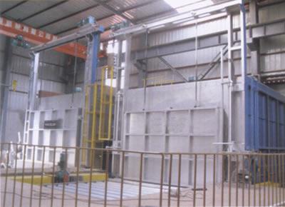 铝合金固溶时效生产线