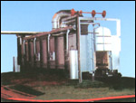 模壳焙烧燃油炉环行线