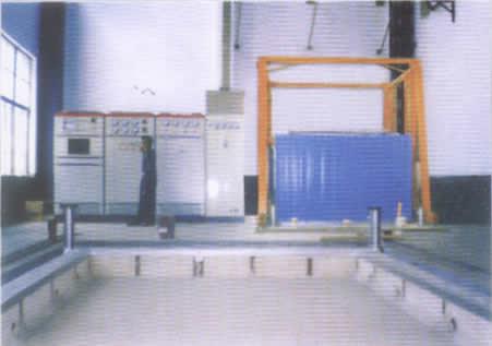 350KW地铁构架罩式电阻炉