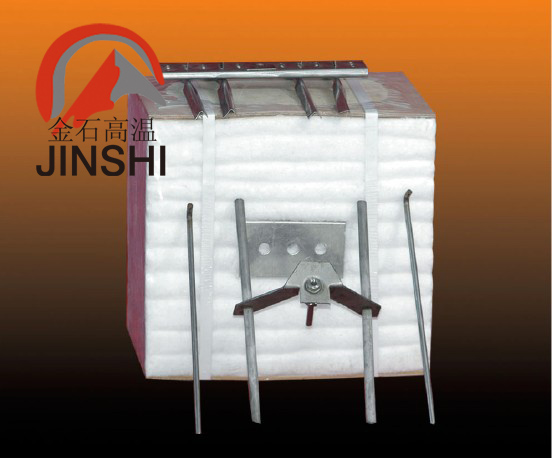 陶瓷隧道窑改造大修专用材料 硅酸铝纤维折叠块