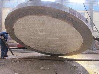 钢包盖专用隔热耐火含锆纤维模块
