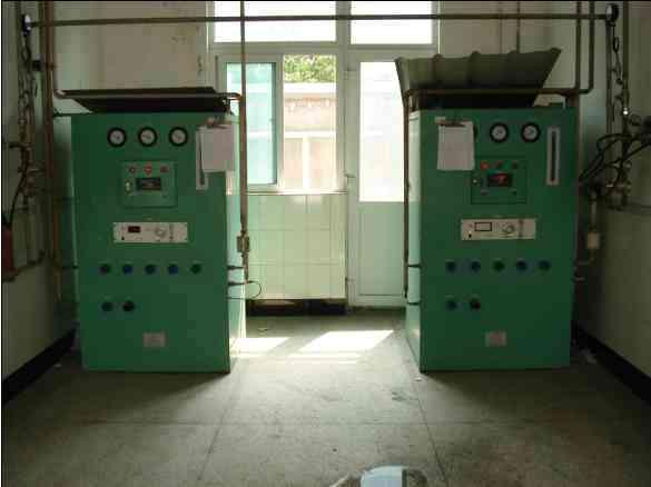 四组分混合配气装置