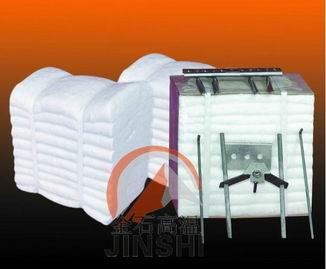 工业镀锌炉型定制块STD硅酸铝纤维模块厂家施工