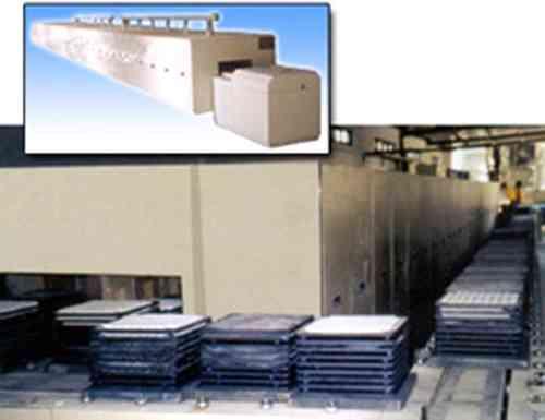 推板式隧道电阻炉