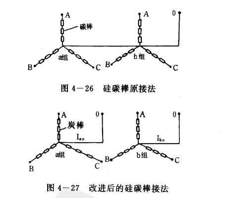硅碳棒规格接线