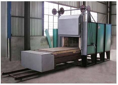 RT2-120-7纯纤维台车式回火电阻炉