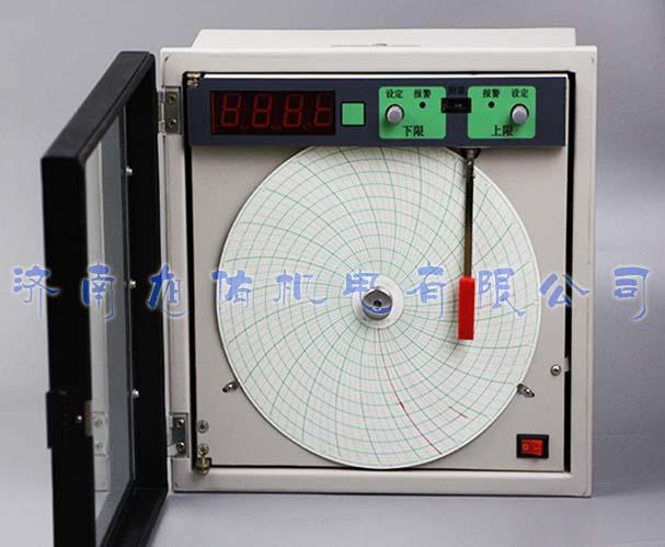 电炉用圆图记录仪中园图